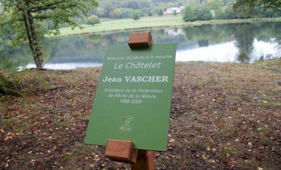 Inauguration du réservoir de pêche à la mouche Le Chatelet - Jean Vascher